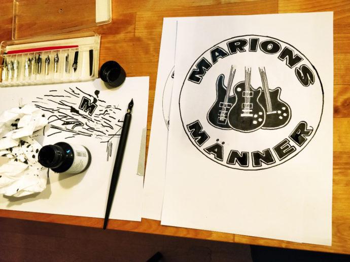 Rock- und Blues-Band Marions Männer