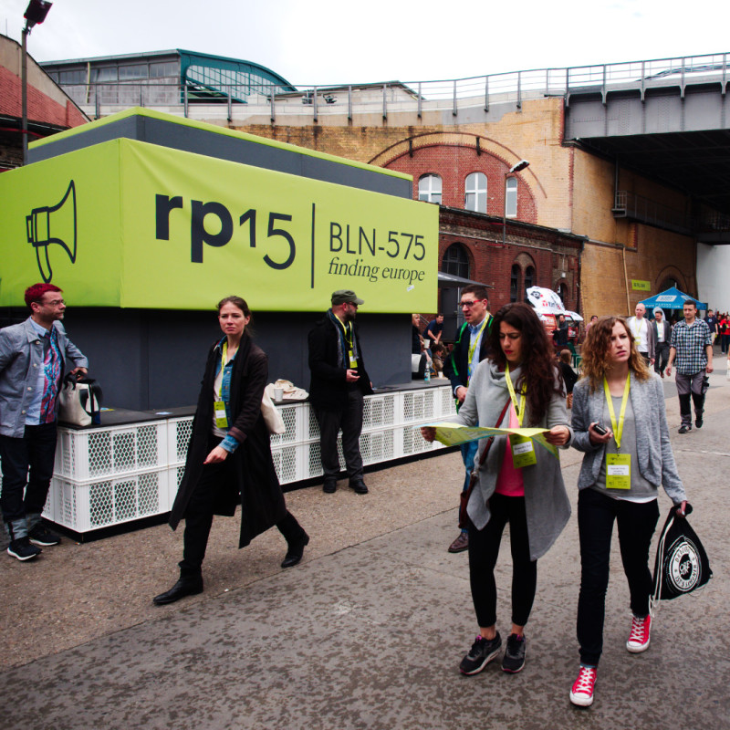 Eingang re:publica 15