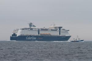 ColorLine und Küstenwache
